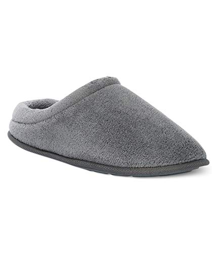 Mens Slippers Slip Club Gray Comfort On Room Terry a8xTPR