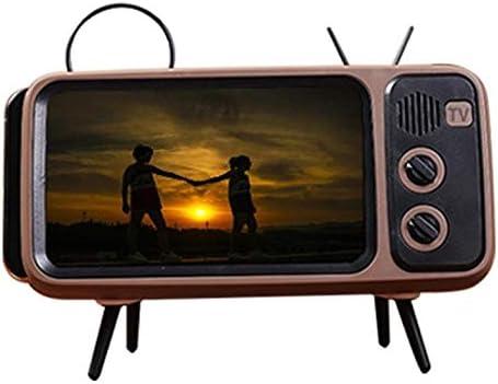 Creative Pth800 Retro TV TV Tarjeta de Soporte para teléfono móvil Altavoz inalámbrico Profesional de Audio inalámbrico para Exteriores: Amazon.es: Electrónica