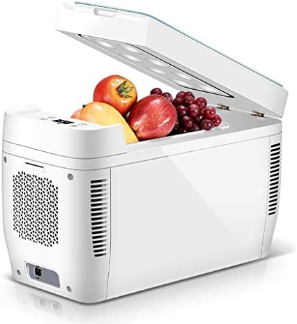 12V 11Lオートカー冷蔵庫|ミニトラベル冷蔵庫クーラーボックス多機能クーラーフリーザーウォーマー