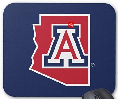 The University Of Arizona State Mouse Pad Computer Accessories  Gaming Mouse Mat 11 8X9 8