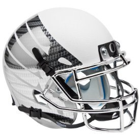 NCAA Oregon Ducks Wing Replica Helmet, One Size, White by Schutt