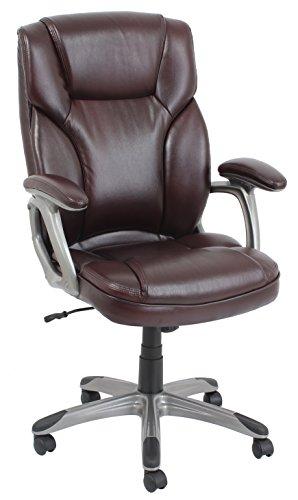Barcalounger s Big & Tall Executive Chair, 350 lb, Burgundy