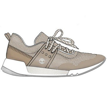 TAUPE para Timberland SIMPLY Up Cordones de Kiri Oxford Mujer Zapatos Lace New rrAfPwq8
