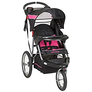 Baby Trend Expedition Jogger - Black and Pink, 12.24 kg - JG94044