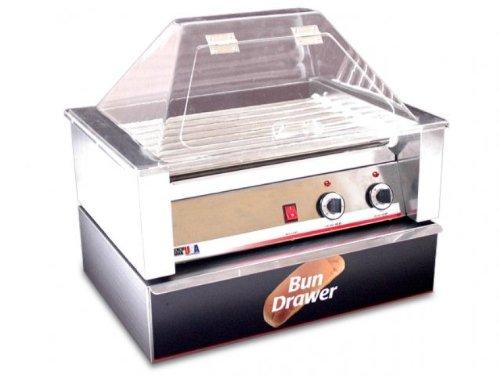"Benchmark 65030 Dry Bun Box, 22"" Width x 7"" Height x 21"" Depth, For 30 Hotdog Roller Grill"