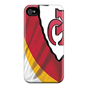 Scratch Protection Hard Cell-phone Case For Iphone 6 With Custom HD Kansas City Chiefs Series IanJoeyPatricia