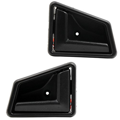 Uxcell a17110200ux0294 Pair Set Driver Passenger Side Interior Door Handle for 89-98 Suzuki Sidekick
