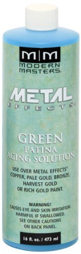 (Modern Masters PA901-16 Aging Solutions Green Patina, 16-Ounce by Modern Masters )