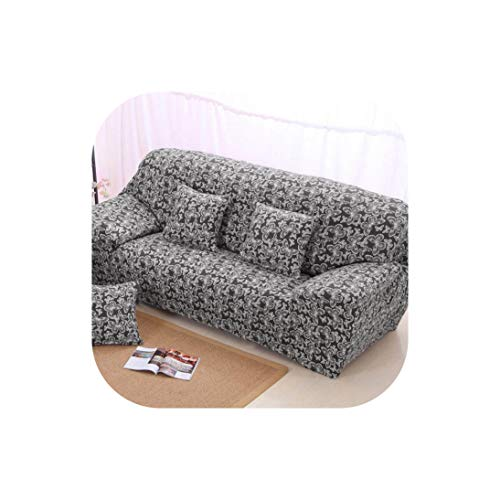 Sofa Cover Spandex Geometric Sofa Slipcover Elastic for Corner L Shaped Sectional Couch,Butterfly,Loveseat