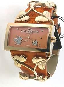 Van Der Women's Watch - Orange Srtap- Orange Dial- Quartz-9900005012