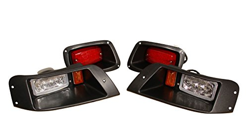 Performance Plus Carts EZGO TXT Golf Cart All LED Deluxe Street Legal Light Kit, Headlight -