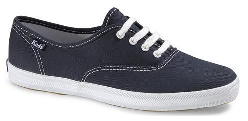 Keds Champion - Sneaker Di Tela Bassa Blu Navy - Taglia: 10