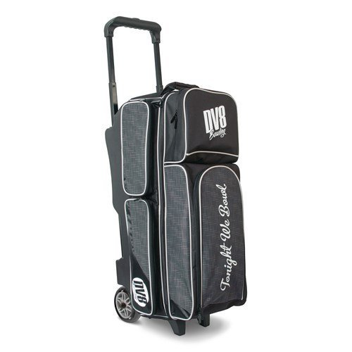 DV8 Circuit Triple Roller Bowling Bag, Grey by DV8