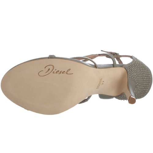 You Women's Loving Truelove Grey Silver Sandal M Diesel 10 Made US 4 1Zq7IIw