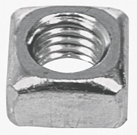 25-Pack The Hillman Group 3338 3//8-16 Square Nut Zinc Plated