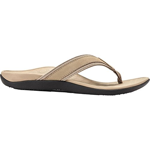Vionic Men's Tide Toe Post Sandal Taupe 13 M