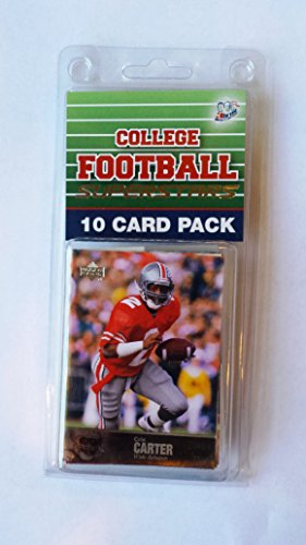 10 card pack college football ohio st buckeyes superstar starter kit