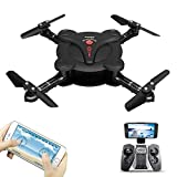 Goolsky FQ17W Mini RC Quadcopter Foldable Drone with WiFi FPV Camera Live Video