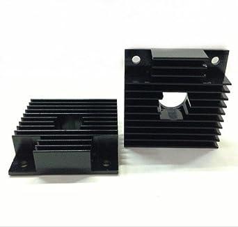 10pcs 3d impresora láser paso disipador de calor 40 * 11 - 40 ...