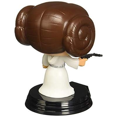 Funko POP Movie: Star Wars Princess Leia Bobble Head Vinyl Figure: Funko Pop! Star Wars:: Toys & Games