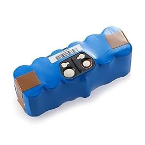 Downton Direct® 14,4 V 3000 mAh batería para iRobot 80501, iRobot 510 530 532 535 540 550 560 562 570 572 580 582 610 760 770 780. [Li-Ion 14,4 V 3000 mAh, 1 año garantía]