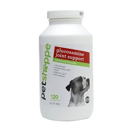 Pet Shoppe Glucosamine Joint Support Advanced Supplement 120.0 ea
