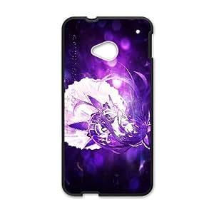 Date A Live Yatogami Tohka HTC One M7 Cell Phone Case Black TPU Phone Case SY_743938
