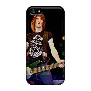 Shock Absorption Hard Cell-phone Case For Iphone 5/5s (lFB8575gTmk) Provide Private Custom HD Asking Alexandria Band Series