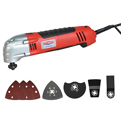 Dobetter OT2528 2.5-Amp Variable Speed Oscillating Multi-Tool Kit