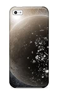 Discount 7148800K17061009 Tpu Shockproof/dirt-proof Glowing Universe Cover Case For Iphone(5c)