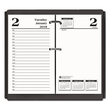 - House of Doolittle 2018 Desk Calendar Daily Refill, 3.5