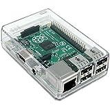 Case trasparente chiuso per Raspberry Pi Modello B 2 (e B +) Grande per gli utenti XBMC!