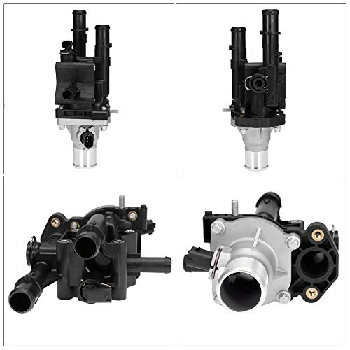 Engine Coolant Thermostat w// Housing for Chevrolet Aveo5 Pontiac G3 G3 Wave
