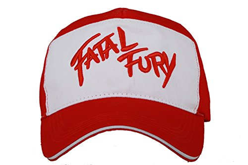 XCOSER Terry Bogard Baseball Caps Embroidered Hat Cosplay Accessory