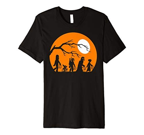 Star Wars Trick Or Treat Halloween Silhouette Premium