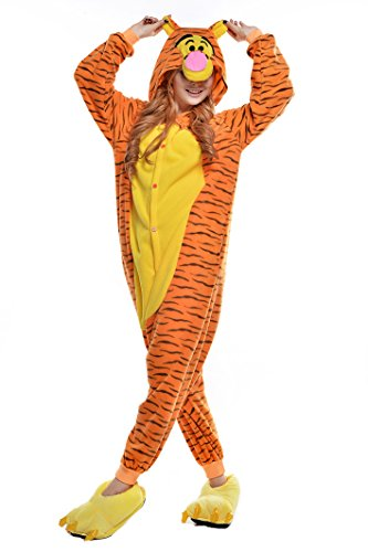 NEWCOSPLAY Halloween Unisex Adult Pajamas Cosplay Costumes (XL,