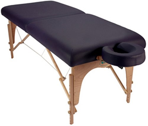 Custom Craftworks Athena Classic Portable Massage Table Package (Black)
