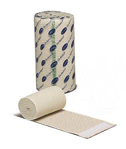 EZe-Band LF Elastic Bandage Rolls, Hook and Loop Closure, Reusable, 4 Inch x 5-1/2 Yards - 1/Box of - La Ah Las Band