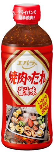 Ebara Yakiniku sauce party size soy sauce 600g