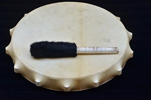 22'' Tambourine Siberian Shamanic Circle Drum Frame drum Handcrafted Powerful sound by Siberian Shamanic