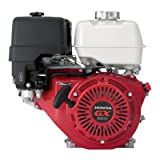 Honda Horizontal OHV Engine with 6:1 Gear Reduction for Cement Mixers – 389cc, 1in. x 3 5/32in. Shaft,