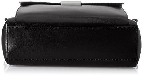 Mandarina Duck Damen Hera 3.0 Tracolla Laptop Tasche, 11x25x32 cm Schwarz (Black)