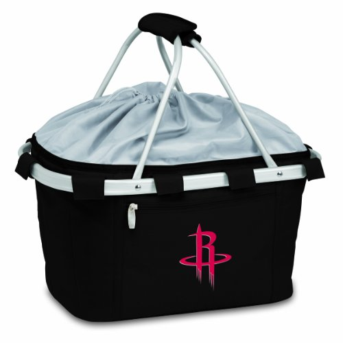 NBA Houston Rockets Insulated Metro Basket, Black