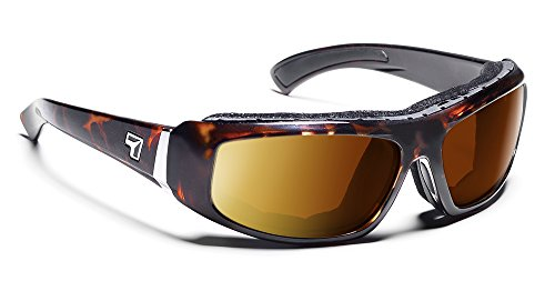Copper Polarized Frame - 7eye Bali SharpView Sunglasses, Tortoise Dark Frame, Polarized Copper Lens, Small/Large
