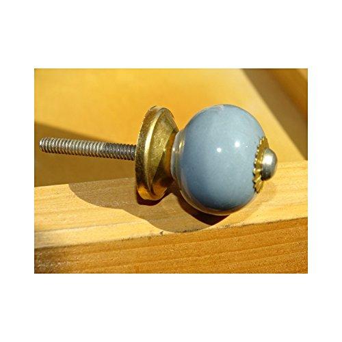int. d'ailleurs - Petites poignées grises bleutés - KNBMIN039 int. d' ailleurs