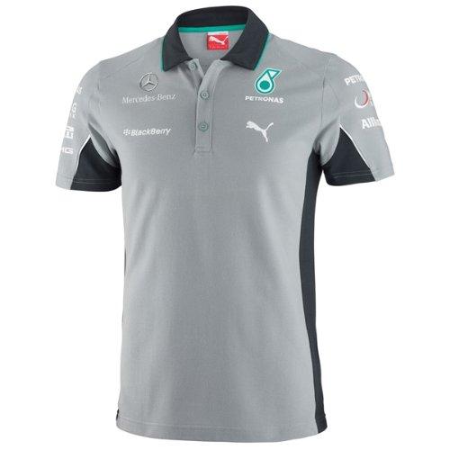 b53f7817dcf Galleon - Puma Mercedes AMG Petronas F1 2014 Men's Team Polo Shirt, Dark  Shadow, Small