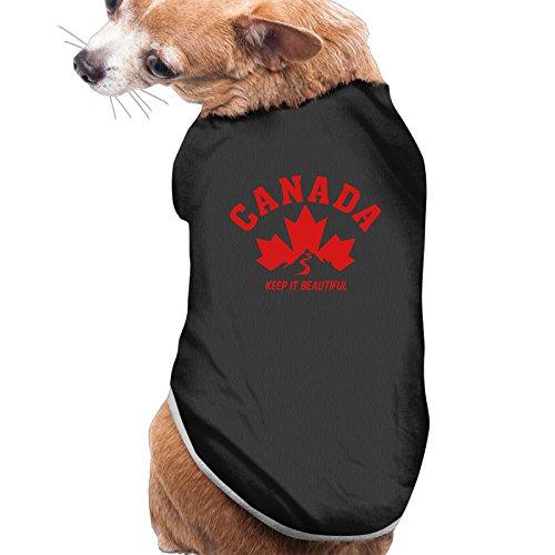 Rappy Dog's CANADA KEEP IT BEAUTIFUL Dog Sweater