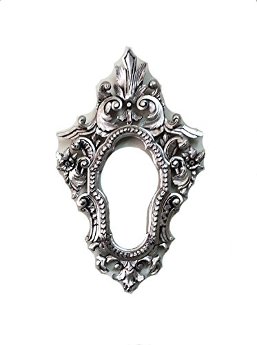 Amazon.com: Decorative wall mirror frame with silver color in high ...