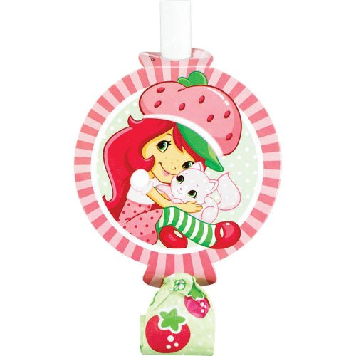 Strawberry Shortcake Blowouts -Birthday and Theme Party Supplies - 8 per Pack
