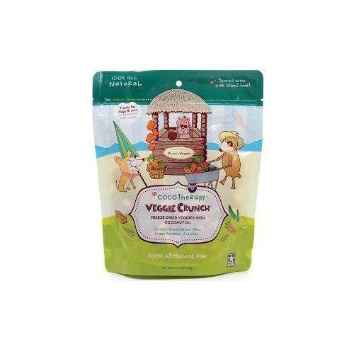 Coco Therapy Veggie Crunch Organic Dog Treats, 1.5 oz